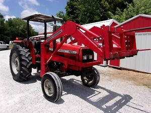 Massey Ferguson 481 Tractor With Mf 236 Loader