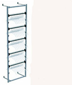 Retail Clothes Stores Sort N Store Hanger Wall Storage Rack New In Box