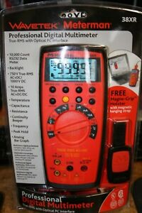Wavetek Meterman 38xr Professional Digital Multimeter 101 236