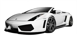 Lamborghini Gallardo 04 08 Aero Function Body Kit Af 1 Widebody