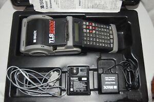 Brady Tls2200 Portable Thermal Labeling Printer System With Hard Case