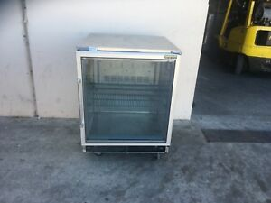 Silver King Skf27gb Glass Door Freezer Under Counter 27