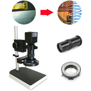 16mp Hdmi 1080p Hd Digital Industry Video Inspection Microscope Camera Set Stand