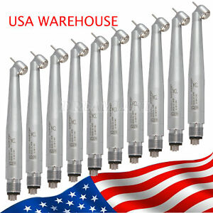 10 Ybb Push 45 Degree Surgical Dental High Speed Handpiece 4 Holes Midwest Cj2