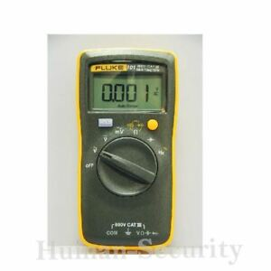 New Fluke 101 Digital Multimeter Tester Pocket Size Aaa Battery Fluke 101