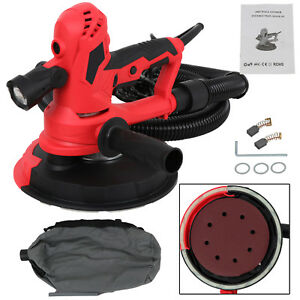 Electric Variable Speed Drywall Vacuum Sander With Led Light 750 Watts