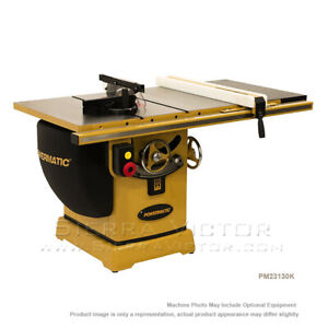 10 Powermatic Pm2000table Cabinet Saw With 30 Accu fence System 3 Hp