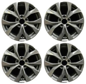 17 Honda Civic 2012 2013 2014 Factory Oem Rim Wheel 64025 Charcoal Full Set