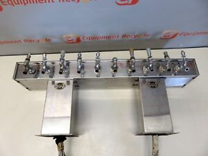 Century Perlick Draft Beer Pour System 10 Faucet Tap Tower