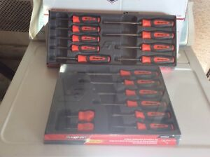New Snap On Tools Mix Lot Orange Screwdriver Torx Set Shdx80o Shdtx90o