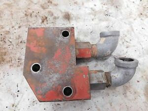 Ih Farmall 240 Utility Hydraulic Remote Valve Manifold Assembly Antique Tractor