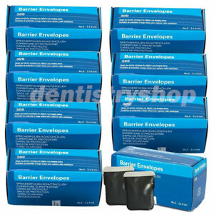 8x 2400pcs Dental Barrier Envelopes Size 2 F Intra Oral Digital X ray Scanx