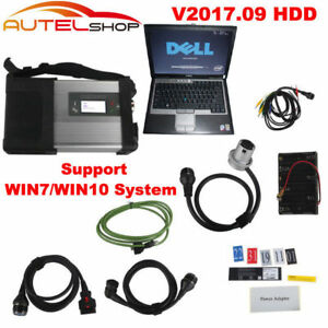 V2017 9 For Mb Sd C5 Sd Connect Compact 5 Star Obd2 Diagnostic dell D630 Laptop