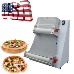 370w Automatic Pizza Dough Roller Rolling Sheeter Machine pizza Making Machine