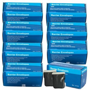 2400pcs 8box Dental X ray Scanx Barrier Envelopes For Phosphor Plate Size 2 Sale