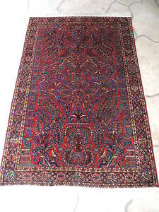 4x6ft Antique Persian Fine Quality Wool Rug