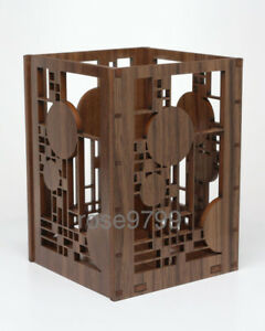 Frank Lloyd Wright Laser Cut Wood Coonley Playhouse Pencil Pen Holder