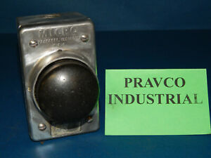 Micro Switch 2ph1 Black Palm Switch Push Button 600vac 3 1 2 5 Npt