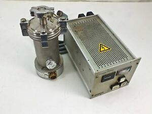 Pfeiffer Tpc 040 Tph 040 Turbo Pump With Matching Controller Power Supply