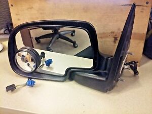 2004 Chevrolet Silverado 2500 Oem Electric Left Side View Mirror