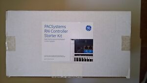 New In Box Ge Fanuc Pacsystems Rxi Controller Cimplicity Hmi Proficy Starter Kit