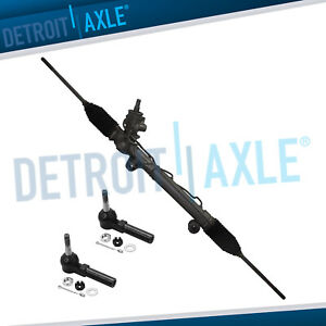 Power Steering Rack And Pinion W o Magnasteer Outer Tie Rods For Chevy Buick