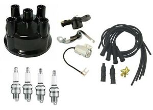 Ign Tune Up Kit For Ih Farmall 464 544 574 674 Tractor Prestolite W Tail Rotor