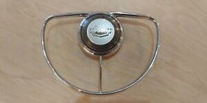 1949 1950 Ford Deluxe Steering Wheel Horn Ring Button Original Hot Rod Rat Sled