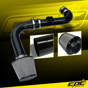 For 11 15 Chevy Cruze Turbo 1 4l 4cyl Black Cold Air Intake Stainless Filter