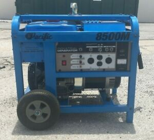 Gas Generator Pacific 8500 New Free Shipping