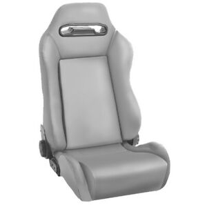 Sport Seat Front Reclinable Gray 76 02 Jeep Cj Wrangler Yj Tj