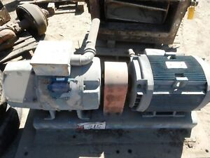 40 Kw General Electric Ac To Dc Motor Generator 250 Volts Dc 1800 Rpm 25 Hp
