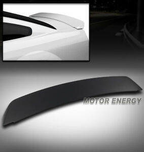 05 09 Ford Mustang Gt Racing Rear Tail Trunk Spoiler Wing Unpainted Matte Black