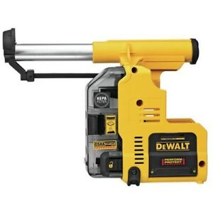 Dewalt Dwh303dh Onboard Dust Extractor For 1in Sds Plus Hammers 225