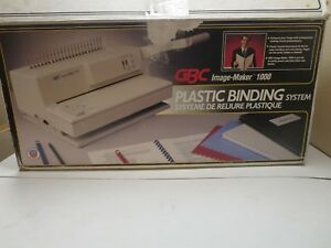 Gbc Image maker 1000 Plastic Binding System Machine