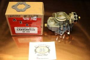 Nos Carter Carburetor Yf 2014s 1951 1962 Amc Jeep Missing Choke