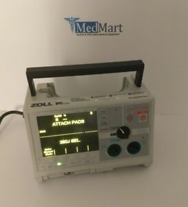 Zoll M series Biphasic Defib With Pacing 3 Lead Ecg Analyze