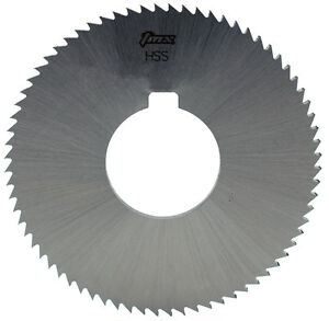 1 8 Thick X 3 1 2 Diameter X 1 Arbor Hole 36 Teeth Hss Plain Slitting Saw
