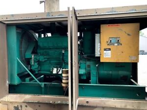 Used Diesel Generator For Sale 275 Kw Cummins Onan Model Nta855 3 Phase 277 480
