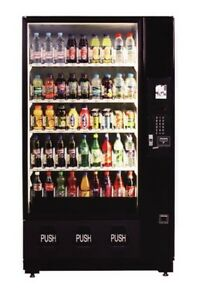 Dixie Narco Dn2145 Beveragemax Bottle Drop 45 Sel Cold Drink Vending Machine