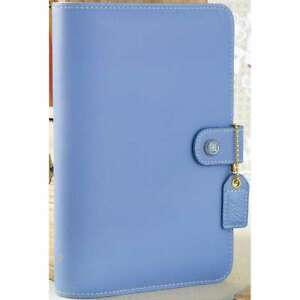 Color Crush Faux Leather Personal Planner Kit 5 25 x8 Periwinkle 608807000300