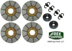 Brake Disc Kit Ih Farmall 2544 2504 2606 460 504 606 340 Diesel 368292r92