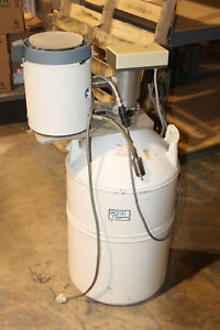 Mve Cryogenics Nitrogen Tank W Mettler Dsc30s Thermal Analysis Measuring Module