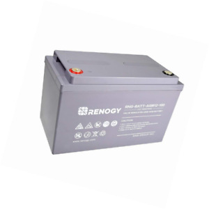 Renogy Deep Cycle Agm Battery 12 Volt 100ah For Rv Solar Marine And Off grid