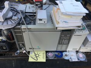 1995 Hp Gas Chromatograph mass Spectrometer gc ms 5890e Series Ii Plus