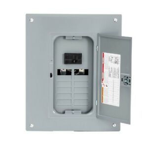 Indoor Main Electrical Breaker Box Plug on Neutral Load Center W Cover 100 Amps
