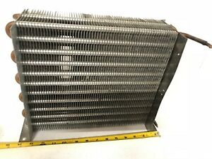 Hvac Condenser Coil 14x5x11 For Commercial Refrigerator Freezer Cooler