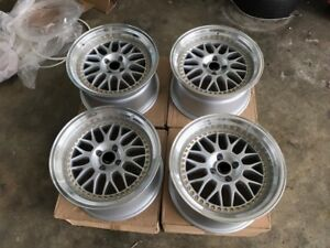 For Civic Eg6 Acura Dc2 Ek Dc Jdm 17 Mesh Vs Vsxx Xx Style Wheels Lm 100x4