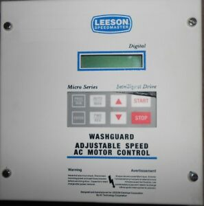 Leeson Speedmaster Adjustable Speed Ac Motor Control Model 174729 00