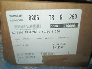 Sargent Assa Abloy 8205 L Mortise Door Lock Office 26d New In Box W Cylinder